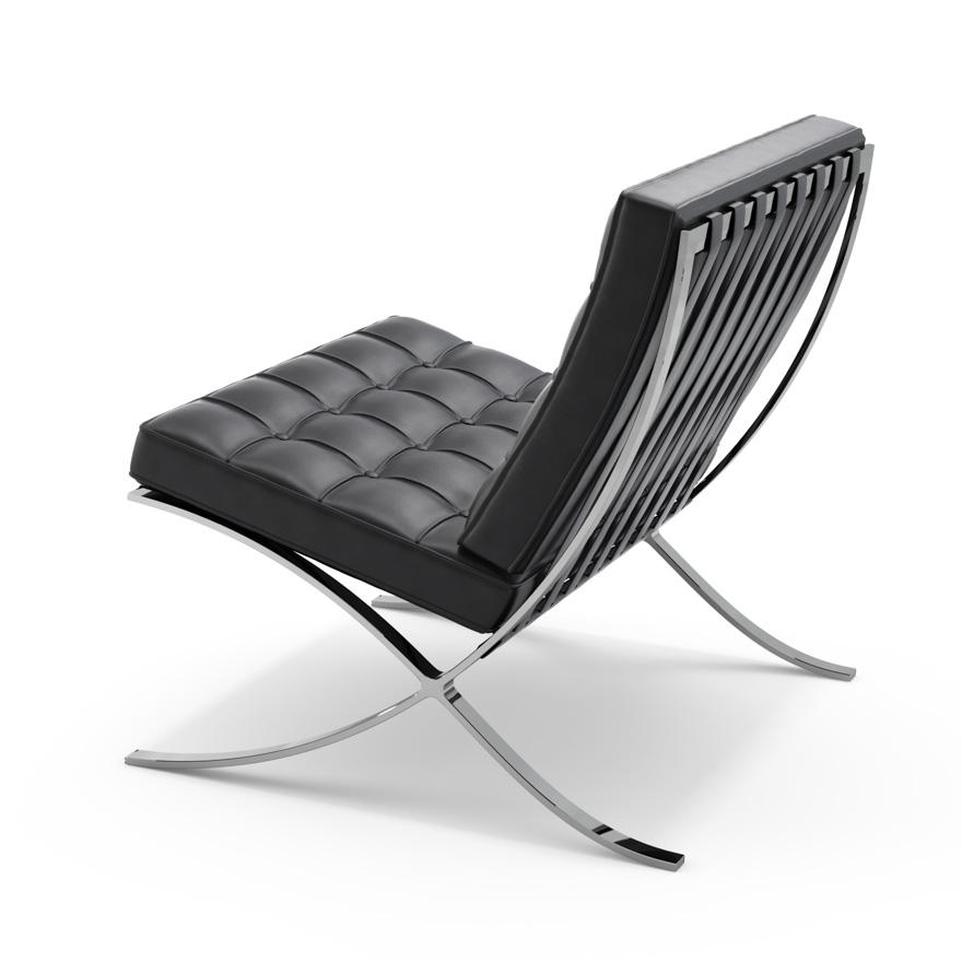 barcelona chair knoll. Black Bedroom Furniture Sets. Home Design Ideas