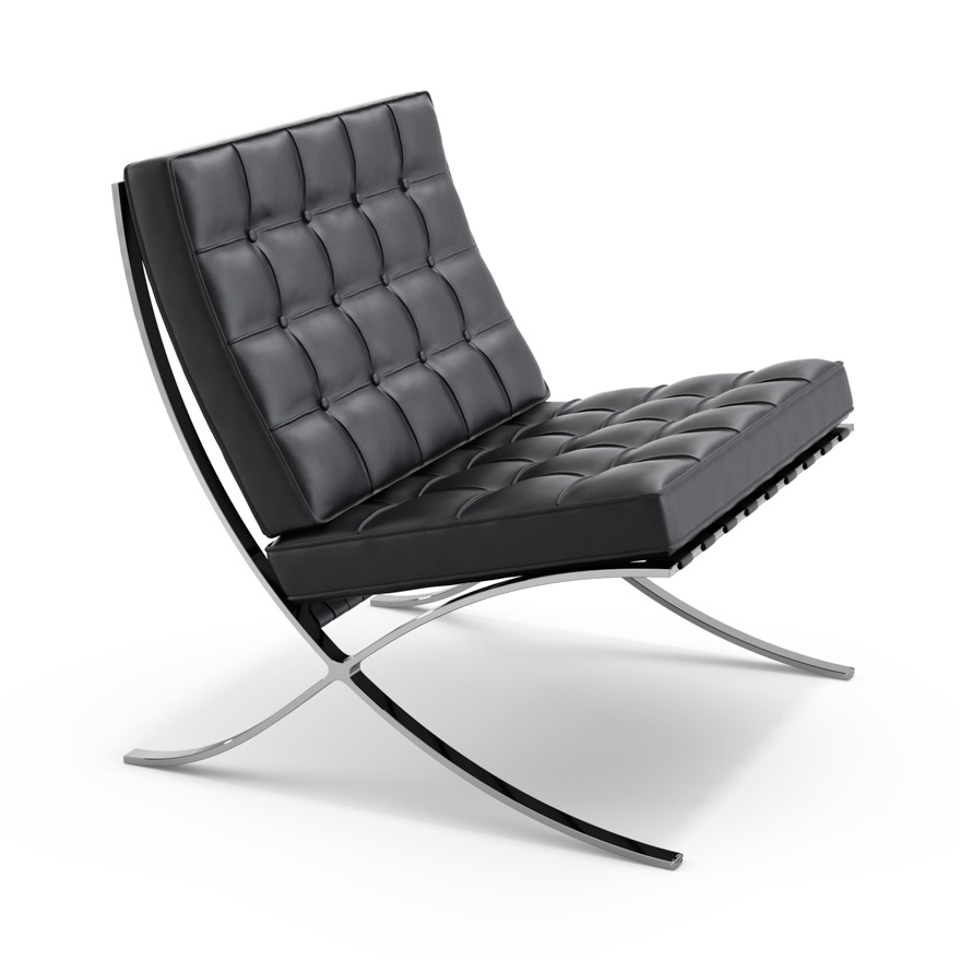 van der rohe furniture. Delighful Furniture Barcelona Chair In Van Der Rohe Furniture Knoll