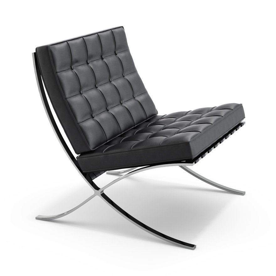 Barcelona Chair Knoll - Siege salon design