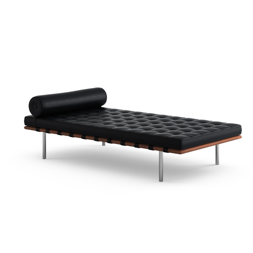 Barcelona sofa bed barcelona couch with black straps for Sofas comodos barcelona