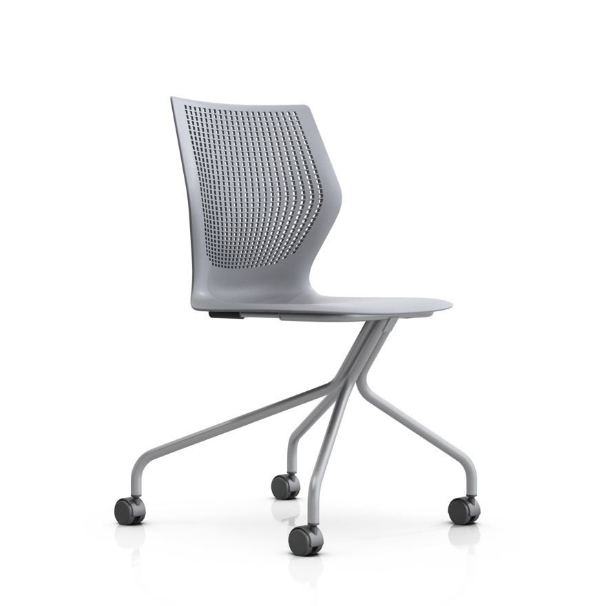 MultiGeneration by Knoll Hybrid Base Ergonomic Side Chair