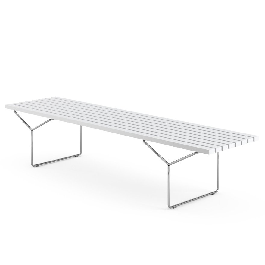 Bertoia Bench Knoll - Bertoia coffee table