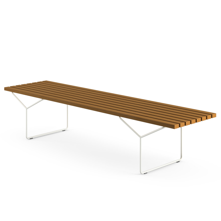 Bertoia Bench - Outdoor - Bertoia Outdoor Bench Knoll