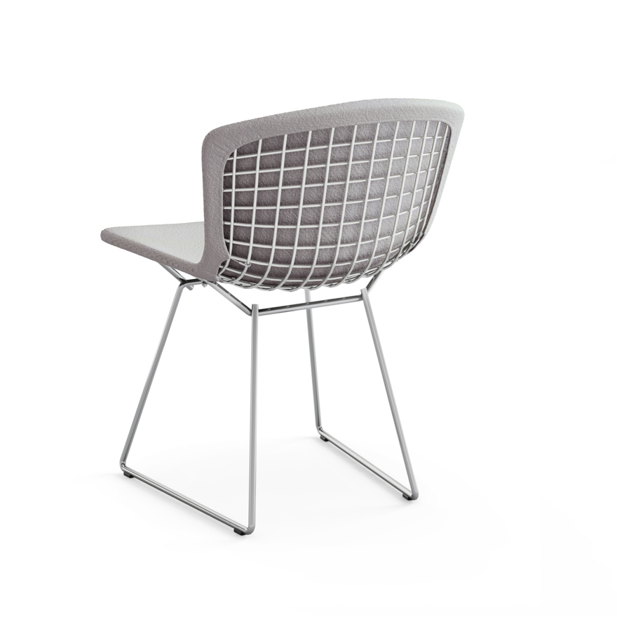 bertoia side chair with full cover knoll