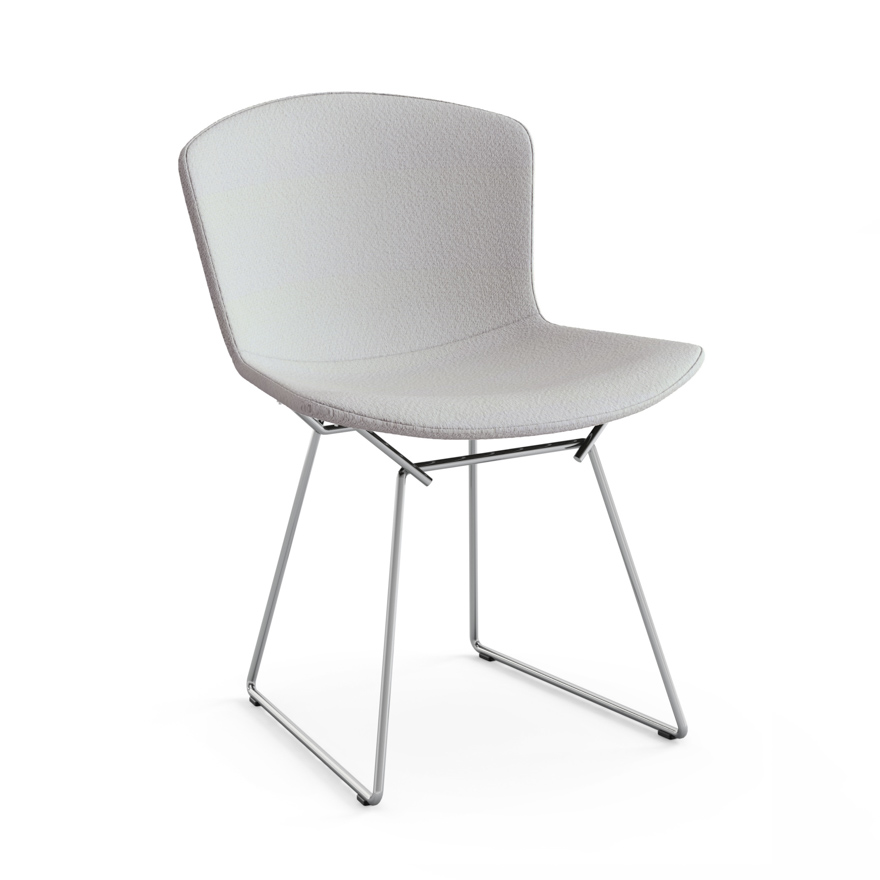 Amazing Bertoia Side Chair With Full Cover