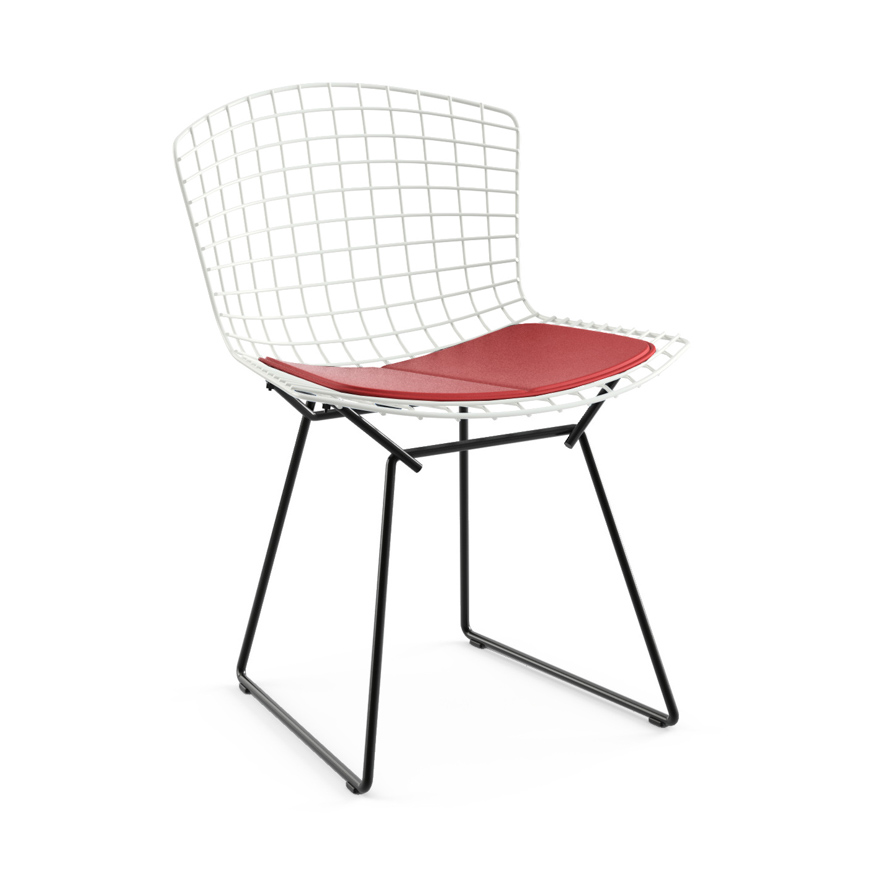 Genial Bertoia Side Chair, Two Tone