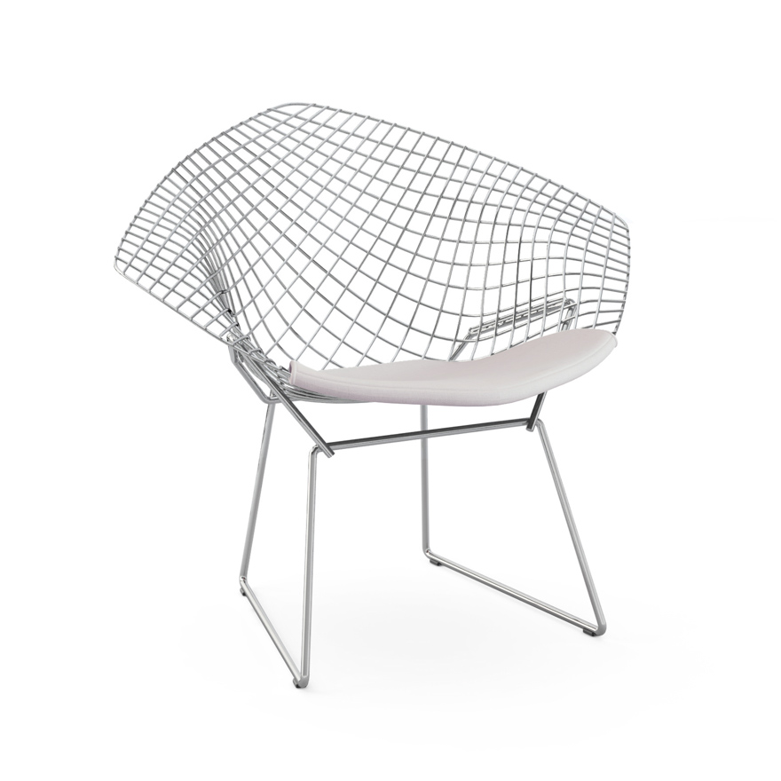 Attractive Bertoia Diamond Chair