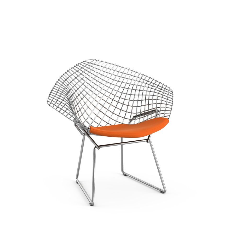 Bertoia Child's Diamond Chair, Knoll