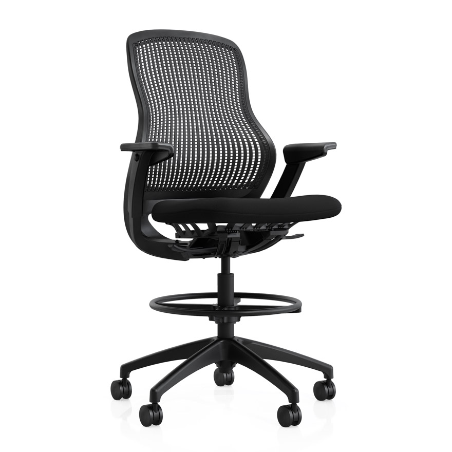 regeneration by knoll ergonomic high task chair