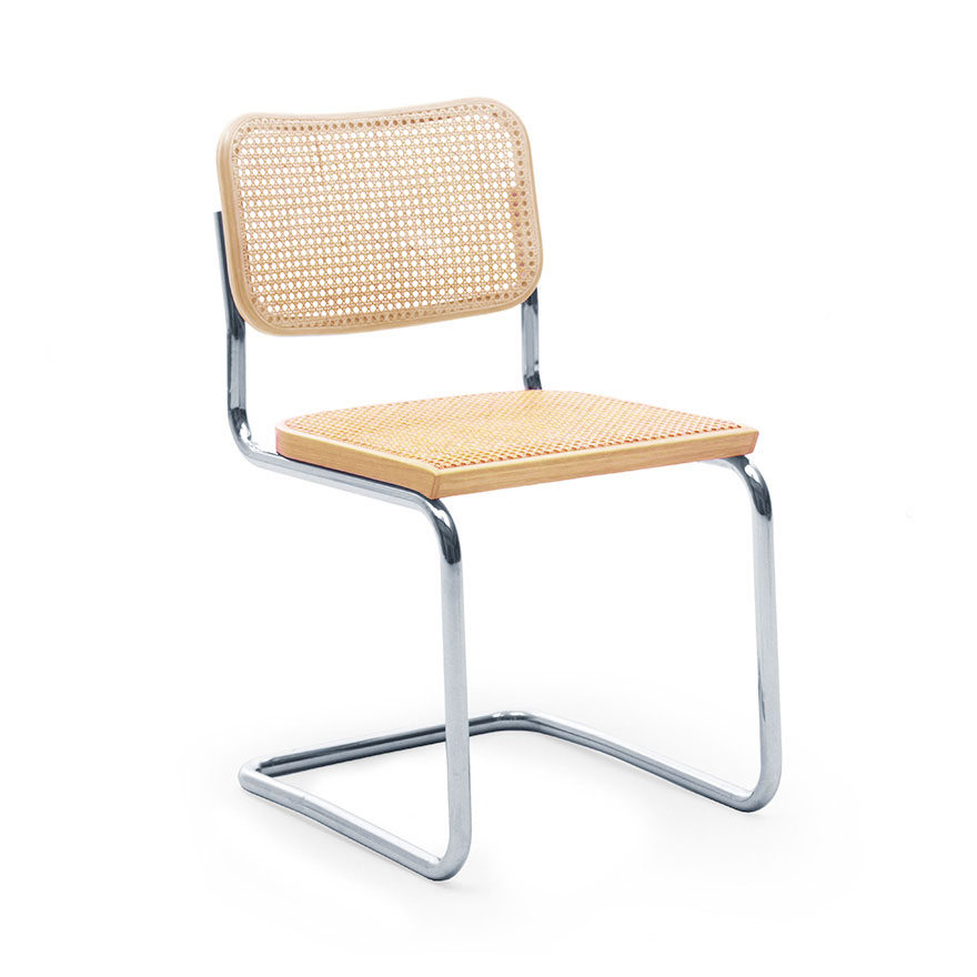 Cesca Chair Armless With Cane Seat Back Knoll