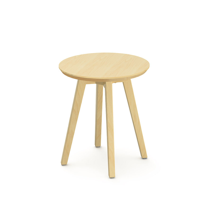 Risom Side Table Round Knoll