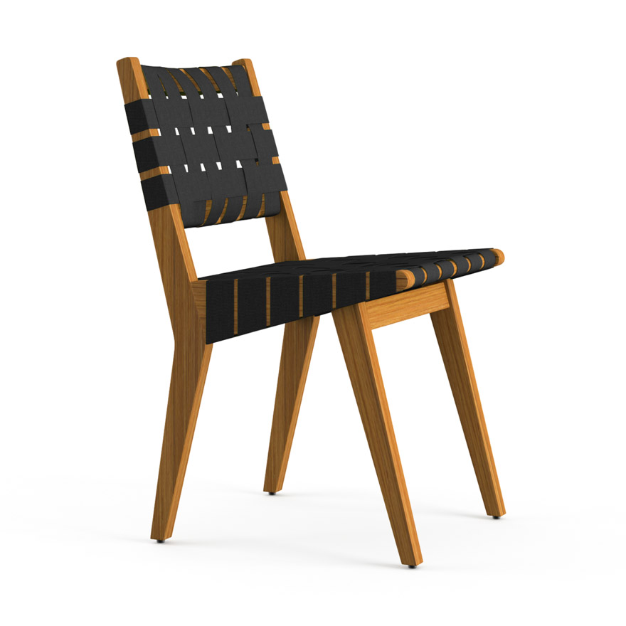 Superieur Risom Outdoor Side Chair
