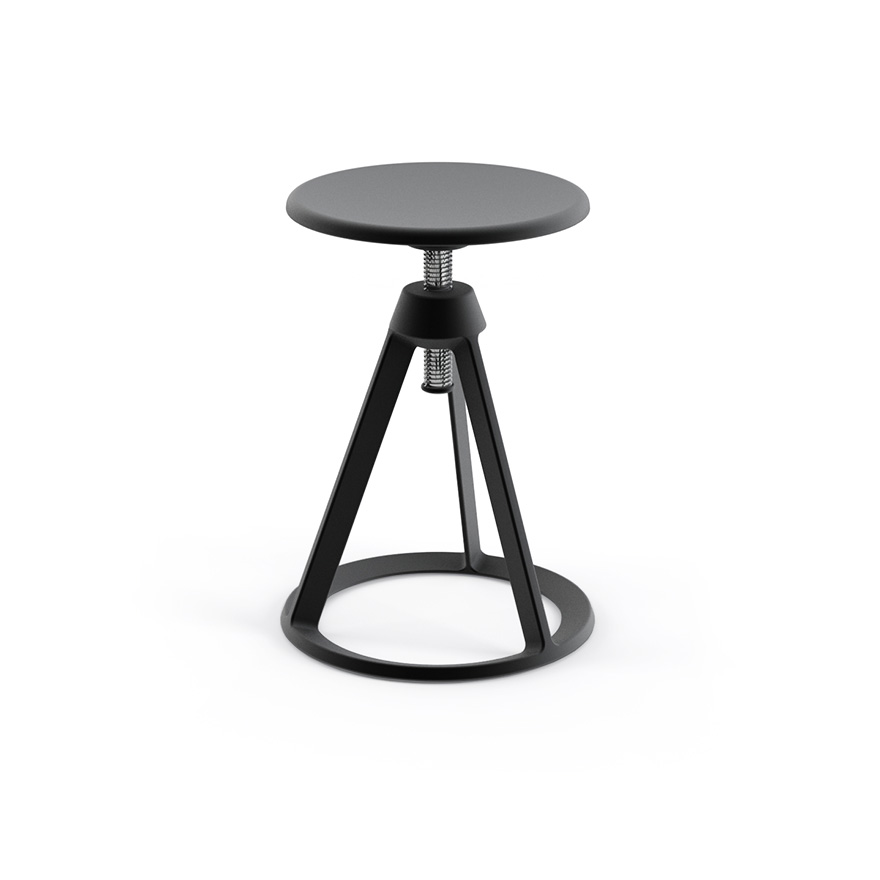 PitonTM Adjustable Height Stool