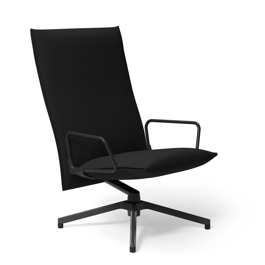 Pilot By Knoll   High Back Lounge Chair With Arms