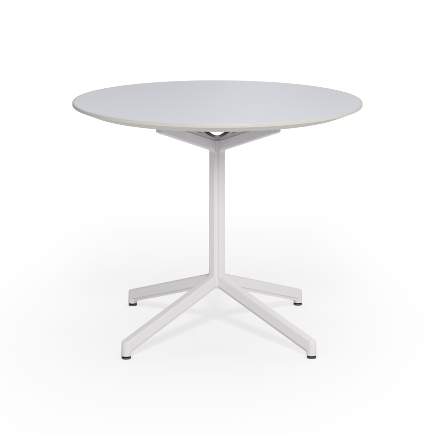Pixel Round Table Knoll - Knoll pedestal table