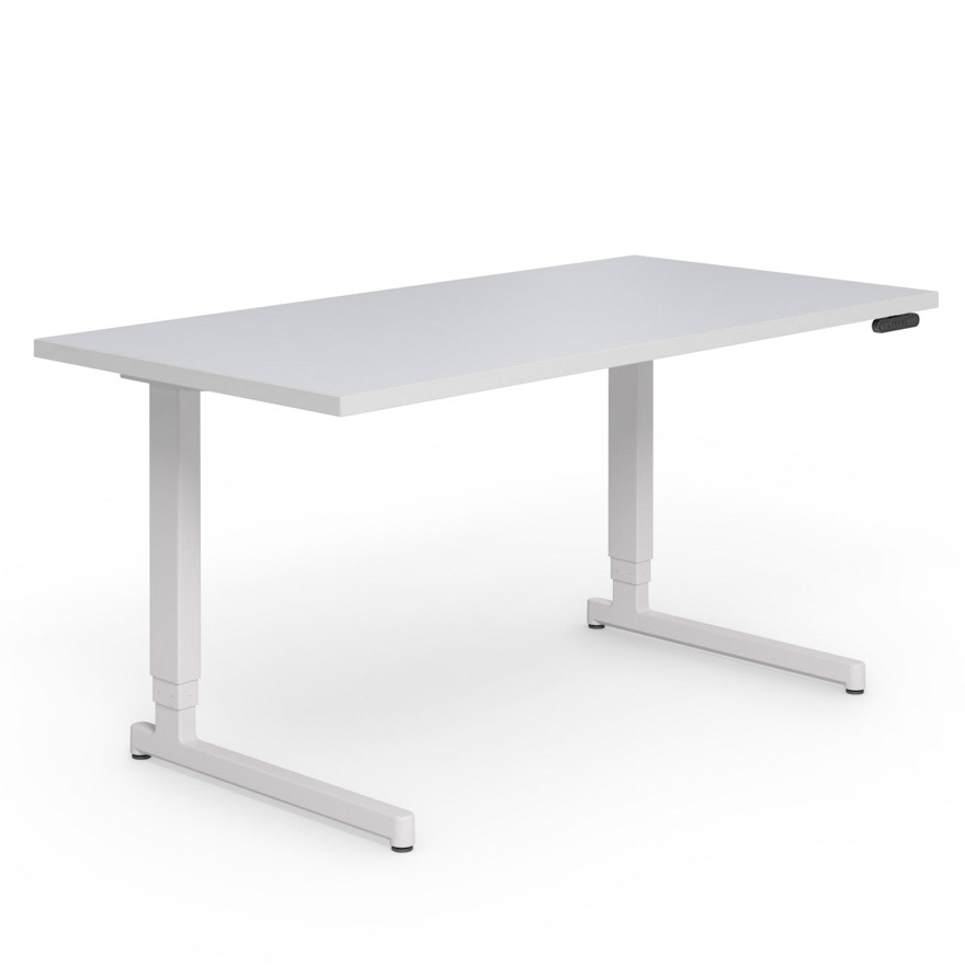 Good PixelTM Electric Height Adjustable C Leg Desk   60