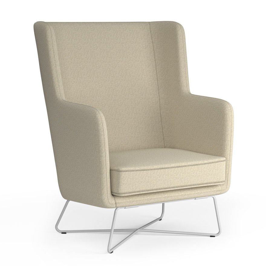 Exceptionnel Rockwell Unscripted® High Back Lounge Chair