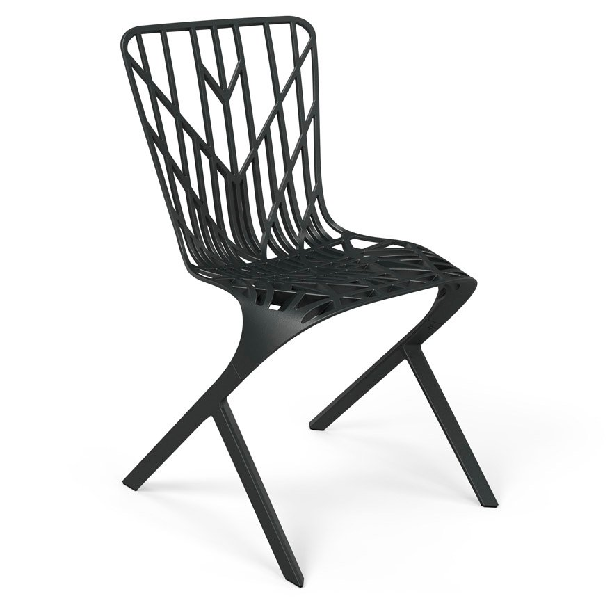 Washington Skeleton Aluminum Side Chair