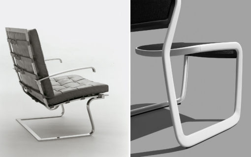 Enjoyable Marc Newson For Knoll Knoll Andrewgaddart Wooden Chair Designs For Living Room Andrewgaddartcom