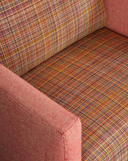 Resized Feeling Plaid Chair