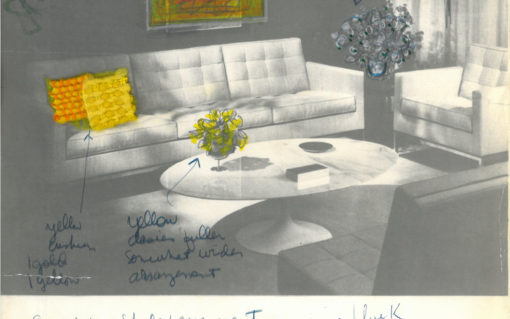 Florence Knoll Advertisement Edited
