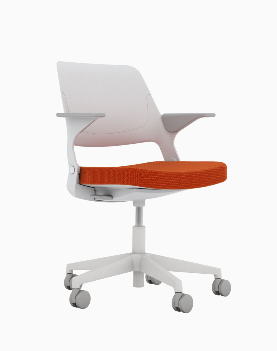 Color Jens Risom Seated 1060