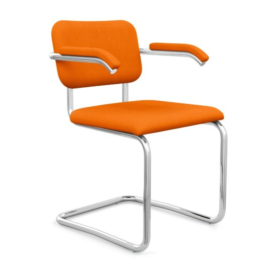 Cesca Sup ™ Sup  Chair– Arm Chair With Upholstered Seat Back
