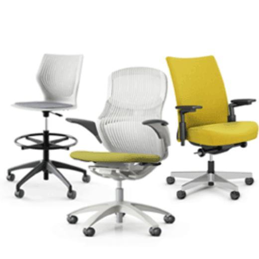 Knoll For Work Office Small Business Ergonomic Chairs
