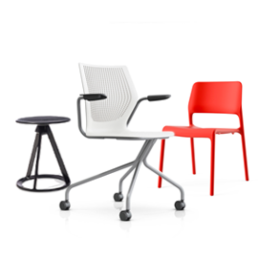 Knoll For Work Office Small Business Side And Multipurpose Seating